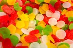 Geleesüßigkeiten auf einem Hintergrund Lizenzfreie Stockbilder