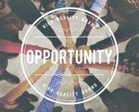 Gelegenheits-Leistungs-unmögliches Entwicklungs-Konzept lizenzfreie stockfotos