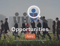 Gelegenheits-Möglichkeits-auserlesene Entscheidungs-Gelegenheits-Gelegenheiten Concep stock abbildung