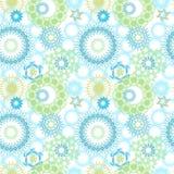 Gelegentliche Kreis-Muster Stockbild