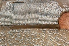 Gelegentliche Wand Florenz Stockfotografie