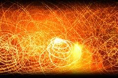 Gelegentlicher Leuchtehintergrund Lizenzfreies Stockbild