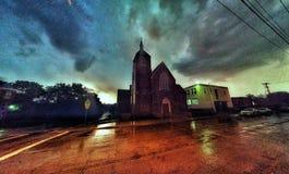 Gelegentlicher pics um von der Stadt Stockfotografie