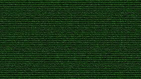 Gelegentlicher Sternzeichen-Hintergrund in einer Matrix-Art stock abbildung