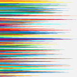 Gelegentliches buntes geometrisches Muster/Beschaffenheit Gesprenkeltes illustratio stock abbildung