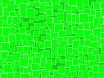 Gelegentliches Grün quadriert Hintergrund Lizenzfreies Stockfoto