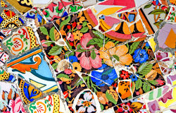 Gelegentliches Mosaik-Muster Stockbilder