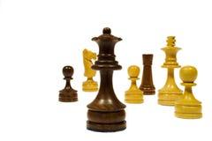 Gelegentliches Schach Stockfotos