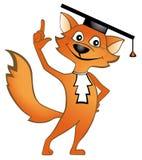 Gelehrter Fuchs stock abbildung