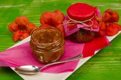 Geleia de fruto tropical Fotos de Stock Royalty Free