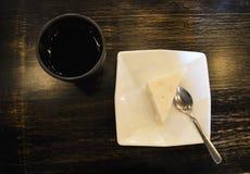 Geleia do coco com Mung doce Bean Dessert imagens de stock