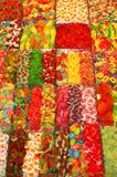 Geleibox in een traditionele markt Stock Foto's