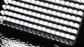 Geleid licht paneel stock videobeelden
