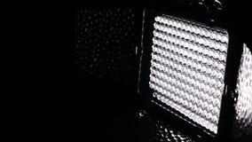 Geleid licht paneel stock video