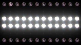 Geleid Muur Licht Close-up Backgrlound 4K stock videobeelden