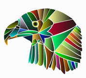 Geleide adelaar Royalty-vrije Stock Foto's