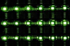 Geleide lamp Stock Afbeeldingen