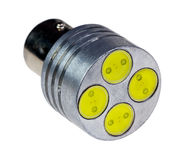 Geleide lamp voor auto Stock Afbeelding