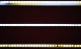 Geleide lichte band Stock Afbeeldingen