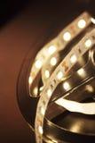 Geleide lichte strook Royalty-vrije Stock Foto
