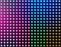 Geleide lichteffectachtergrond stock illustratie