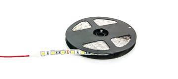 Geleide lichtenband Stock Foto's