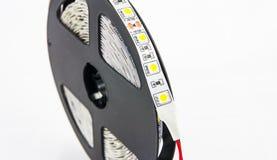 Geleide lichtenband Stock Afbeelding
