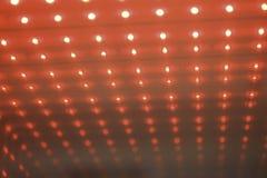 Geleide rode kubus Royalty-vrije Stock Afbeelding