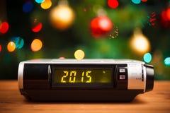 Geleide vertoning met het nieuwe jaar van 2015 Royalty-vrije Stock Foto's