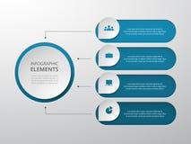 Geleidelijke infographic vector illustratie