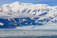 Geleira 2 de Hubbard das montanhas do St. Elias de Alaska fotografia de stock royalty free
