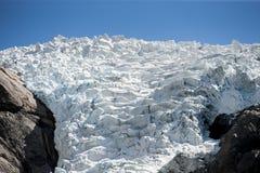 geleira Fotografia de Stock