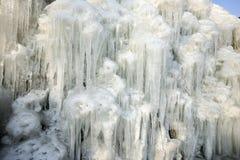 A geleira Fotografia de Stock
