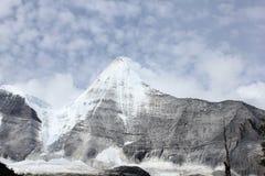 Geleira alpina Fotografia de Stock Royalty Free