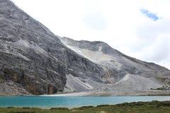 Geleira alpina Foto de Stock Royalty Free