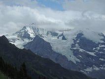Geleira alpina Fotografia de Stock