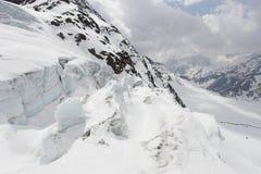 Geleira alpina - paisagem Foto de Stock Royalty Free