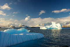 Geleira antártica Fotos de Stock Royalty Free
