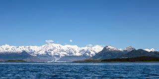 Geleira da Colômbia de Alaska Imagem de Stock