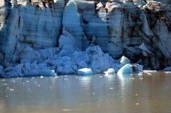 Geleira de Alaska imagens de stock royalty free