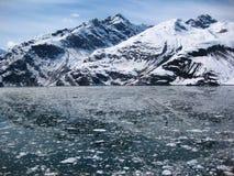 Geleira de Alaska Fotografia de Stock