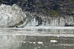 Geleira de Alaska - de Johns Hopkins imagens de stock royalty free
