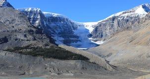 Geleira de Athabasca em Jasper National Park 4K vídeos de arquivo