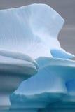 Geleira de Continente antárctico fotografia de stock