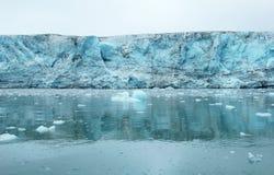 Geleira de Esmark, Spitsbergen (Svalbard) Imagens de Stock Royalty Free