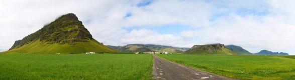 Geleira de Eyjafjallajokull Imagens de Stock