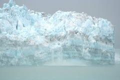 Geleira de Hubbard, Alaska Fotografia de Stock