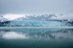 Geleira de Hubbard Alaska completamente Foto de Stock Royalty Free