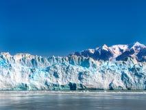 Geleira de Hubbard da baía de geleira de Alaska foto de stock