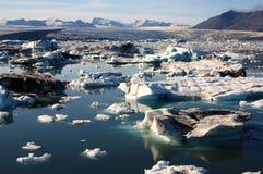 Geleira de Islândia Imagem de Stock